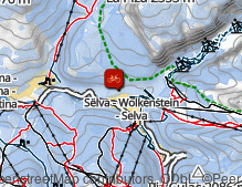 Map: Sellaronda Bike Day / Sellaronda Bike Day