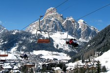 Corvara Badia Winter