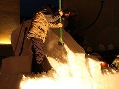 Schneeskulpturenfestival