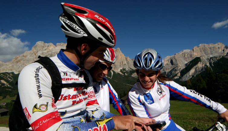 Bici e mountain bike, © Tourismusverband Alta Badia