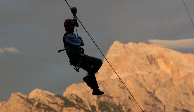 Adrenaline Xtreme Adventures, © Tourismusverein St. Vigil in Enneberg
