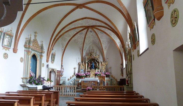 Die Wallfahrtskirche von Hl. Kreuz, Foto: AT, © Peer